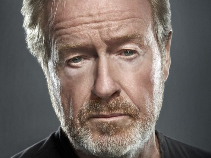 Head and shoulders of Ridley Scott